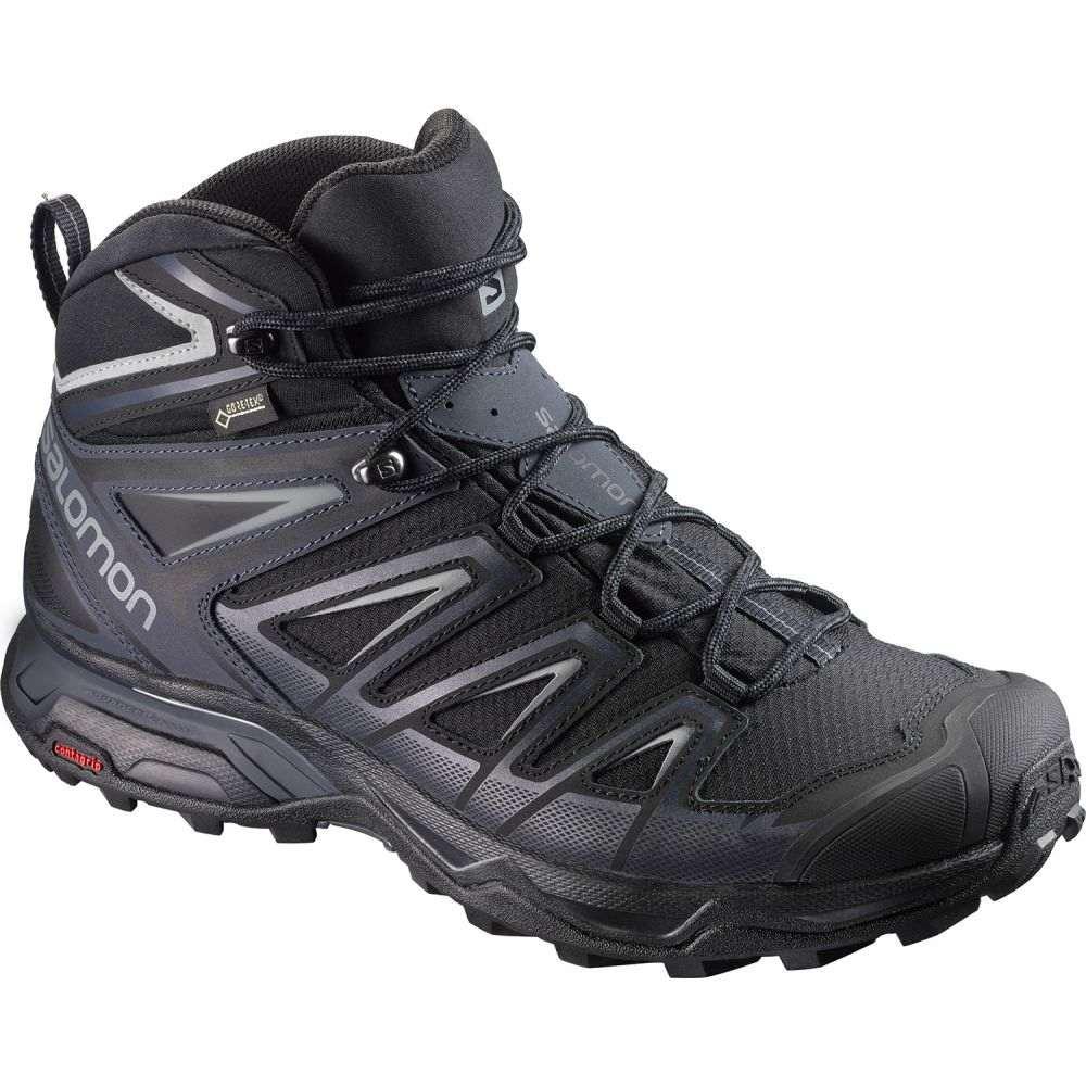 サロモン Salomon メンズ ハイキング・登山 シューズ・靴【X Ultra 3 Mid GTX Hiking Boots】Black/India Ink/Monument