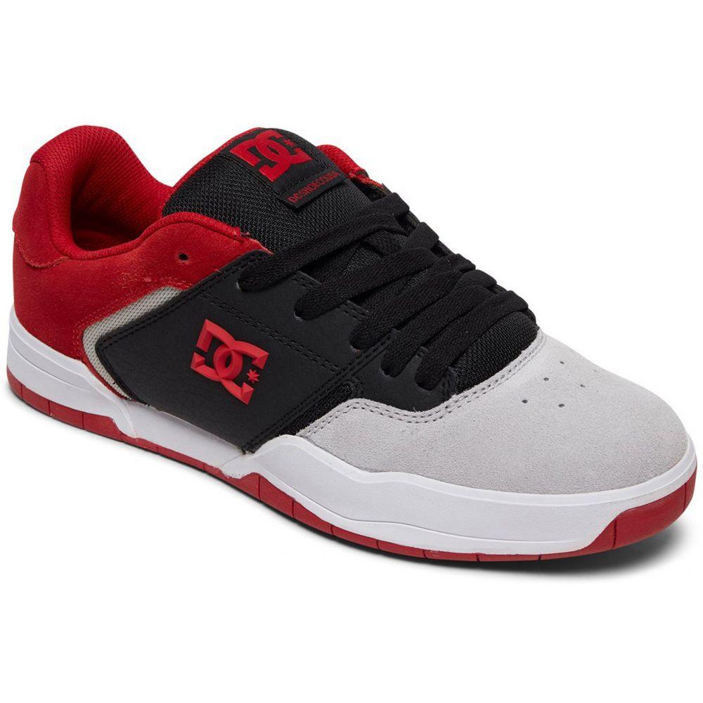 ディーシー DC メンズ スケートボード シューズ・靴【Central Skate Shoes】Black/Red/Grey