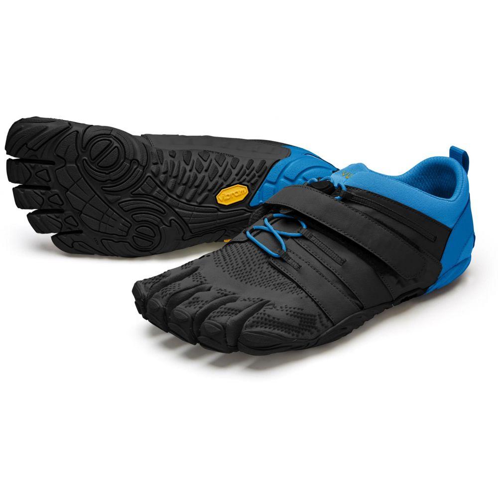 ビブラム Vibram メンズ ランニング・ウォーキング ファイブフィンガーズ シューズ・靴【FiveFingers V-Train Trail Running Shoes】Black/Blue