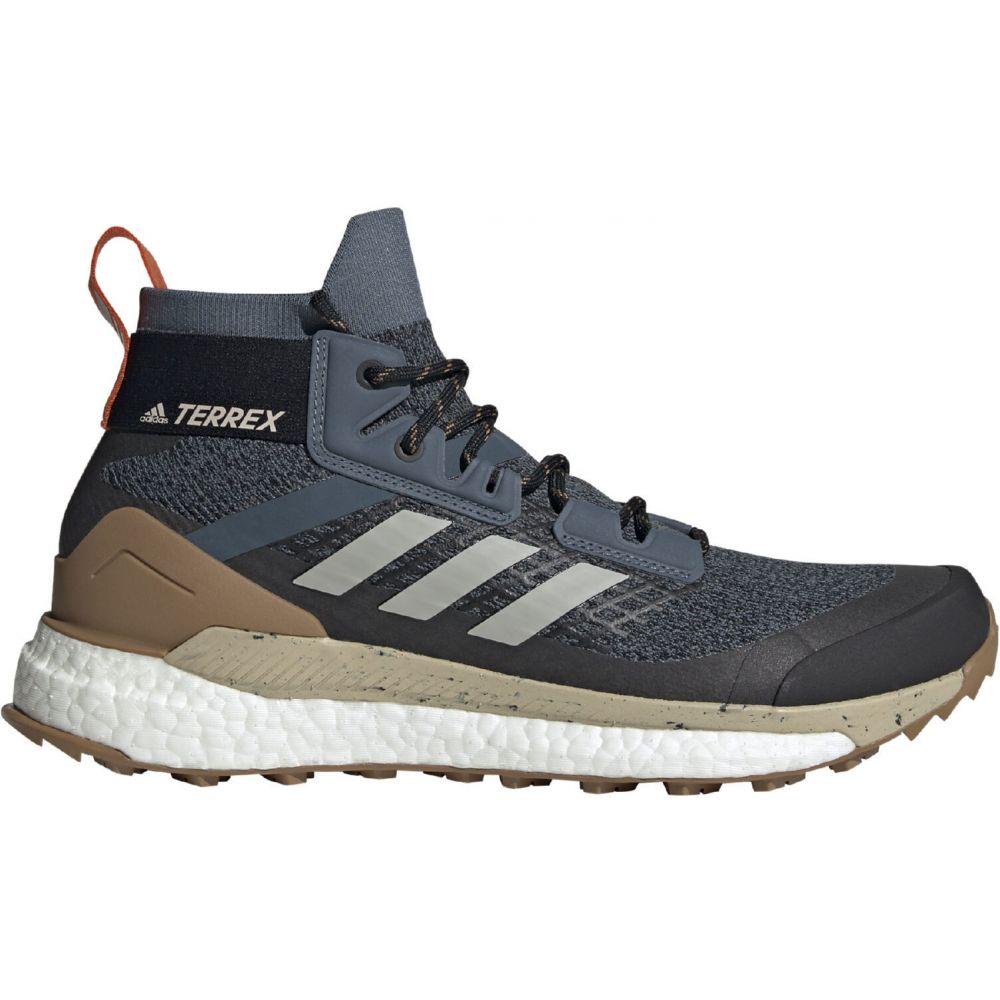 アディダス Adidas メンズ ハイキング・登山 シューズ・靴【Terrex Free Hiking Shoes】Legacy Blue/Metal Grey/Raw Desert