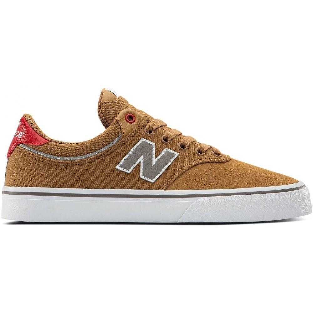 ニューバランス New Balance メンズ スケートボード シューズ・靴【Numeric 255 Skate Shoes】Brown/Red