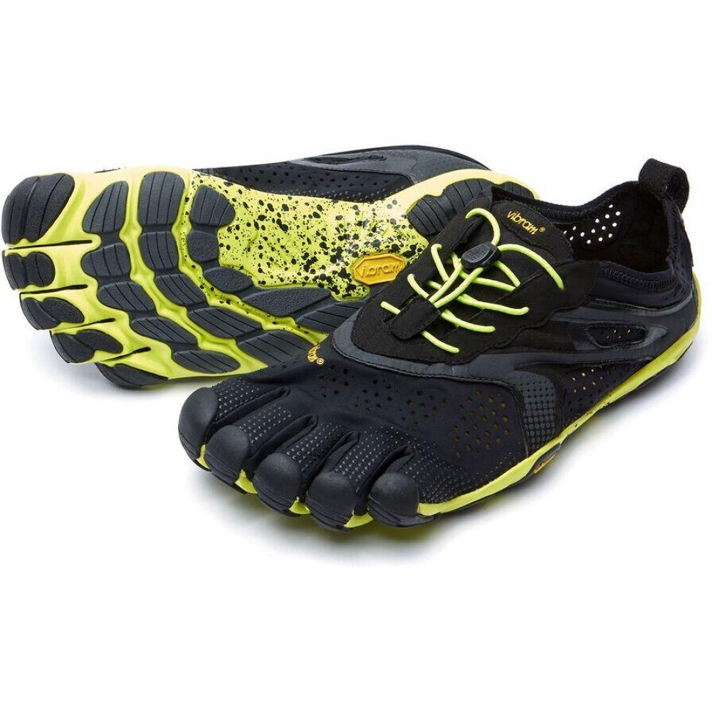 ビブラム Vibram メンズ ランニング・ウォーキング ファイブフィンガーズ シューズ・靴【FiveFingers V-Run Trail Running Shoes】Black/Yellow