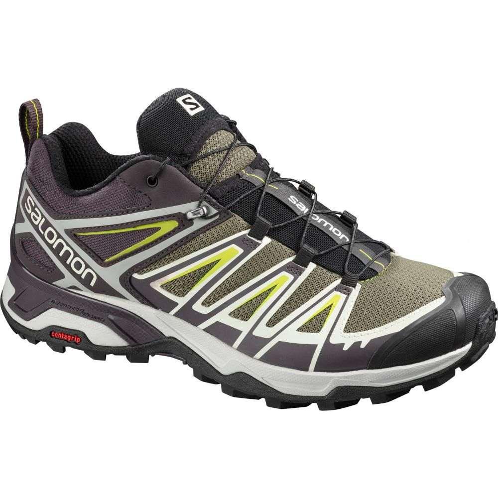 サロモン Salomon メンズ ハイキング・登山 シューズ・靴【X Ultra 3 Hiking Shoes】Burnt Olive/Shale/Acid Lime