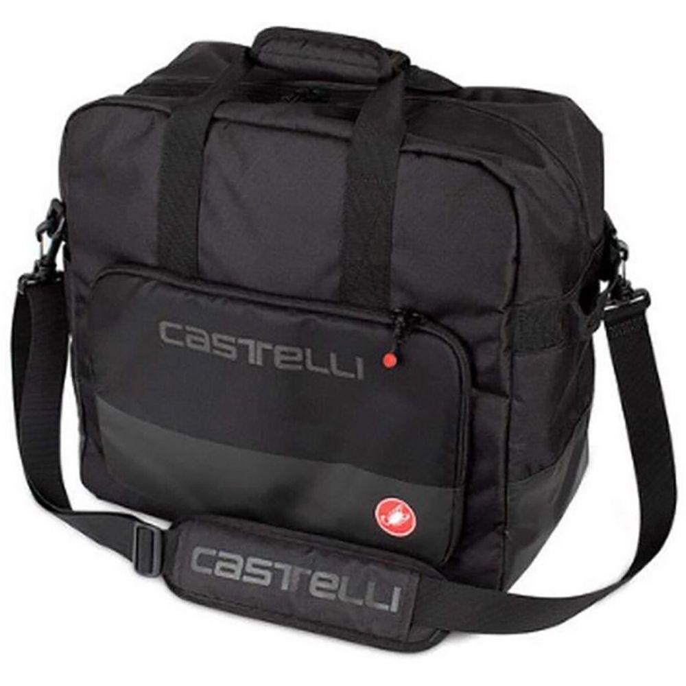 カステリ Castelli メンズ ボストンバッグ・ダッフルバッグ バッグ【Weekender Duffle Bag】Black