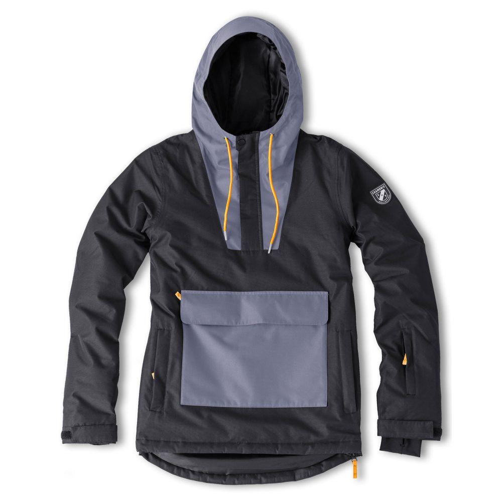 シャモニー Chamonix メンズ スキー・スノーボード アノラック ジャケット アウター【Arcalod Anorak Snowboard Jacket】Black/Grey/Orange