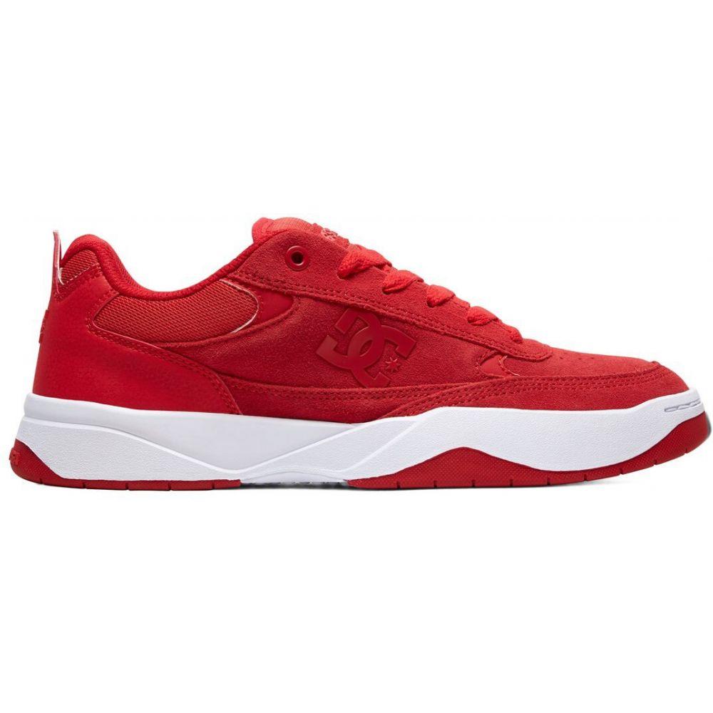 ディーシー DC メンズ スケートボード シューズ・靴【Penza Skate Shoes】Red/Red/White