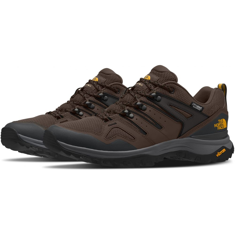 ザ ノースフェイス The North Face メンズ ハイキング・登山 シューズ・靴【Hedgehog Fastpack II WP Hiking Shoes】Chocolate Brown/TNF Black