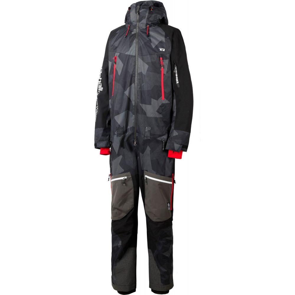 リホール Rehall メンズ スキー・スノーボード ツナギ ボトムス・パンツ【Curb Snowsuit】Camo Black