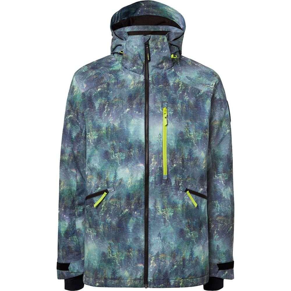 オニール O'Neill メンズ スキー・スノーボード ジャケット アウター【Diabase Snowboard Jacket】Green All Over Print
