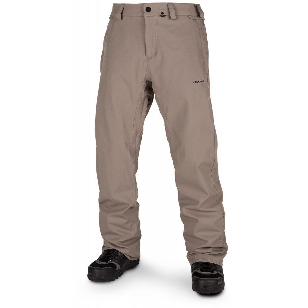 ボルコム Volcom メンズ スキー・スノーボード チノパン ボトムス・パンツ【Freakin Snow Chino Tall Snowboard Pants】Teak