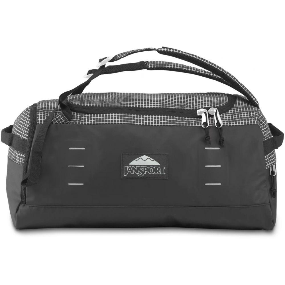 ジャンスポーツ メンズ バッグ ボストンバッグ ダッフルバッグ Black 半額 Matrix 商舗 サイズ交換無料 Bag Duffel JanSport Vibes Good 45 Hauler