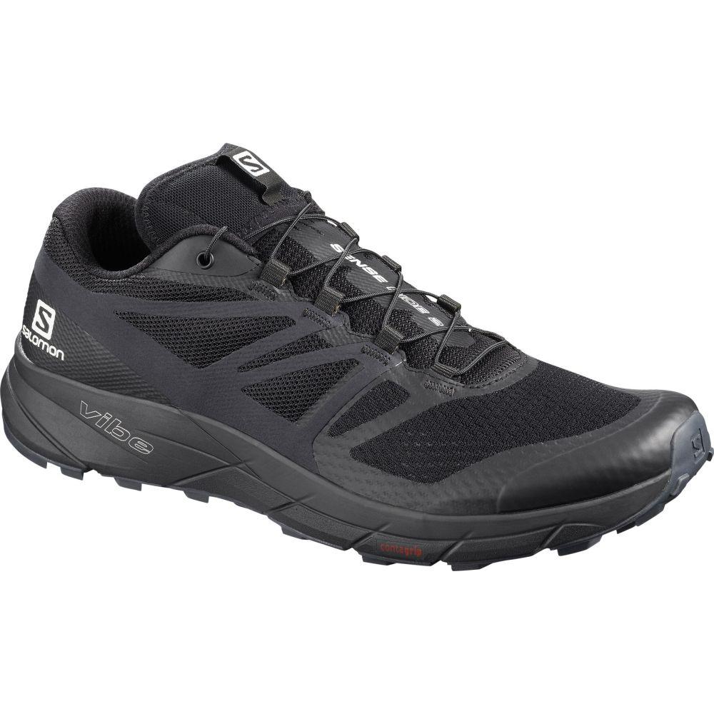 サロモン Salomon メンズ ランニング・ウォーキング シューズ・靴【Sense Ride 2 Trail Running Shoes】Black/Phantom/Ebony