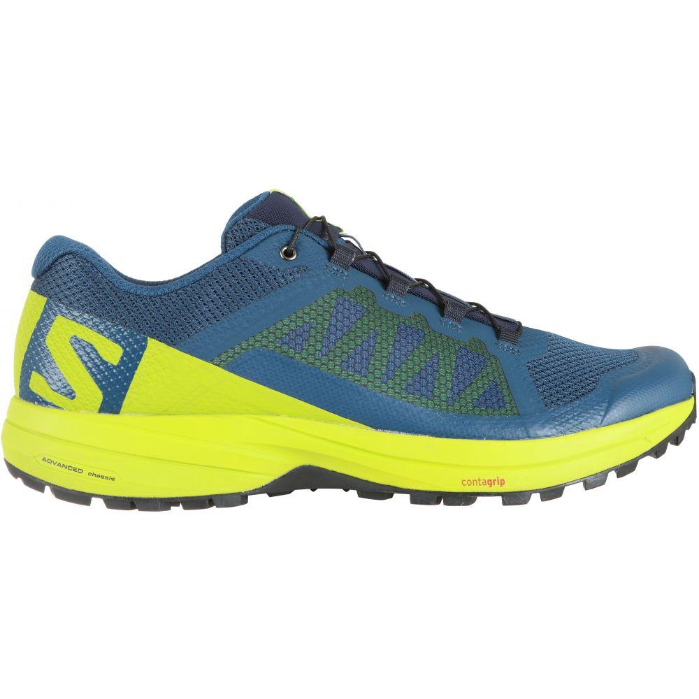 サロモン Salomon メンズ ランニング・ウォーキング シューズ・靴【XA Elevate Trail Running Shoes】Poseidon/Lime Green/Black