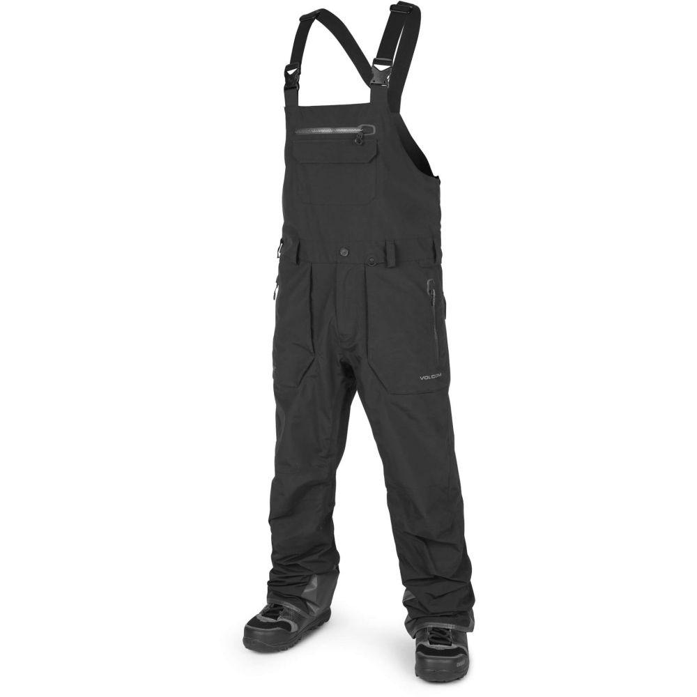 ボルコム Volcom メンズ スキー・スノーボード ビブパンツ ボトムス・パンツ【Rain Gore-Tex Bib Overall Snowboard Pants】Black