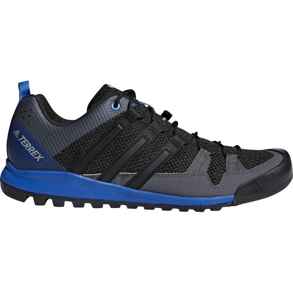 アディダス Adidas メンズ ハイキング・登山 シューズ・靴【Terrex Solo Hiking Shoes】Black/Black/Blue Beauty