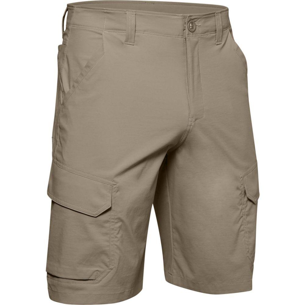 アンダーアーマー Under Armour メンズ カーゴ ボトムス・パンツ【Fish Hunter 2.0 Cargo Shorts】City Khaki/Summit White