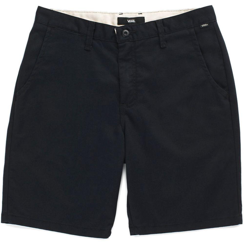 ヴァンズ Vans メンズ ボトムス・パンツ【Authentic Stretch 20in Shorts】Black