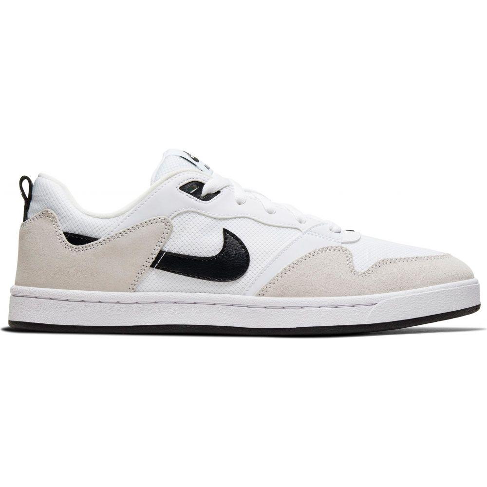 ナイキ Nike メンズ スケートボード シューズ・靴【SB Alleyoop Skate Shoes】White/Black/White