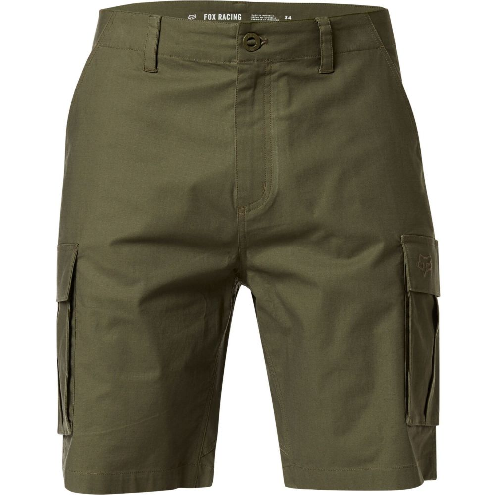 フォックス Fox メンズ ボトムス・パンツ【Slambozo 2.0 Shorts】Olive Green