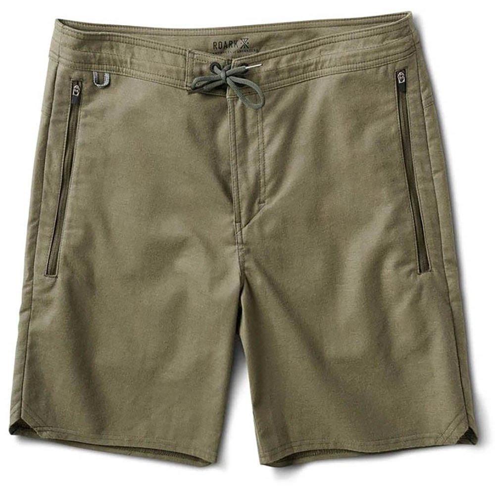 ローアク Roark メンズ ボトムス・パンツ【Layover Shorts】Military