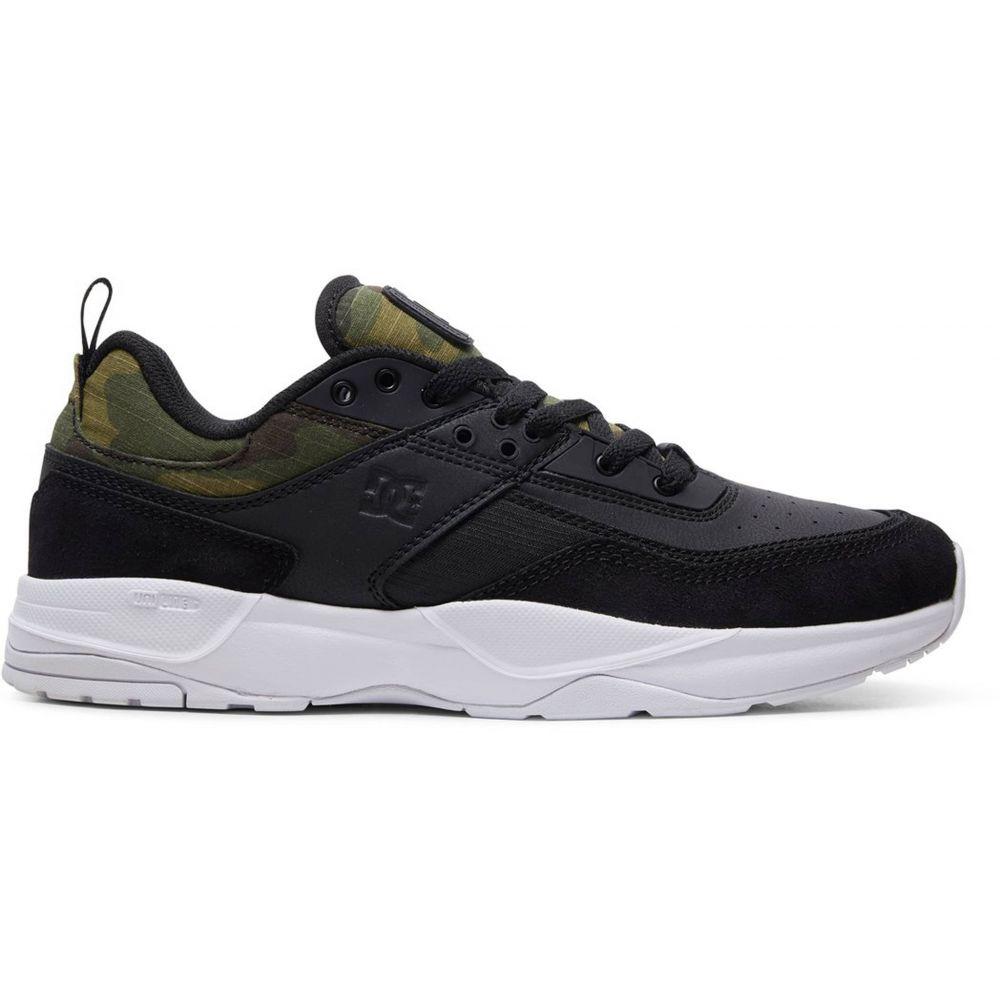 ディーシー DC メンズ スケートボード シューズ・靴【E. Tribeka SE Skate Shoes】Black/Camo Print
