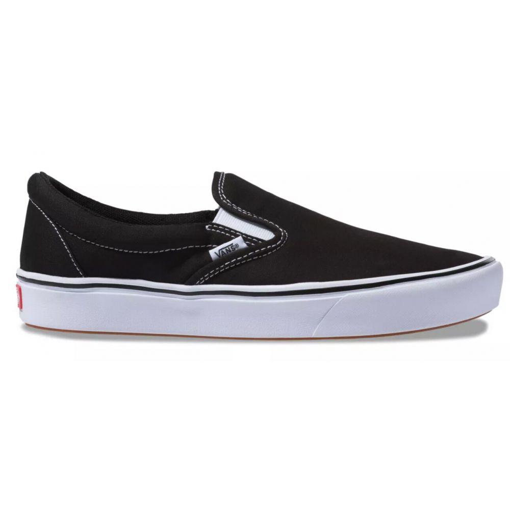 ヴァンズ Vans メンズ スリッポン・フラット シューズ・靴【Comfy Cush Slip-On Shoes】Black/TrueWhite