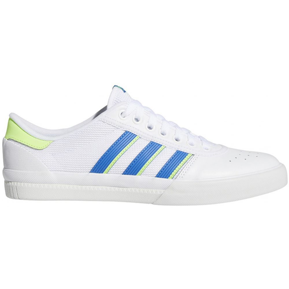 アディダス Adidas メンズ スケートボード シューズ・靴【Lucas Premiere Skate Shoes】Footwear White/Glory Blue/Signal Green