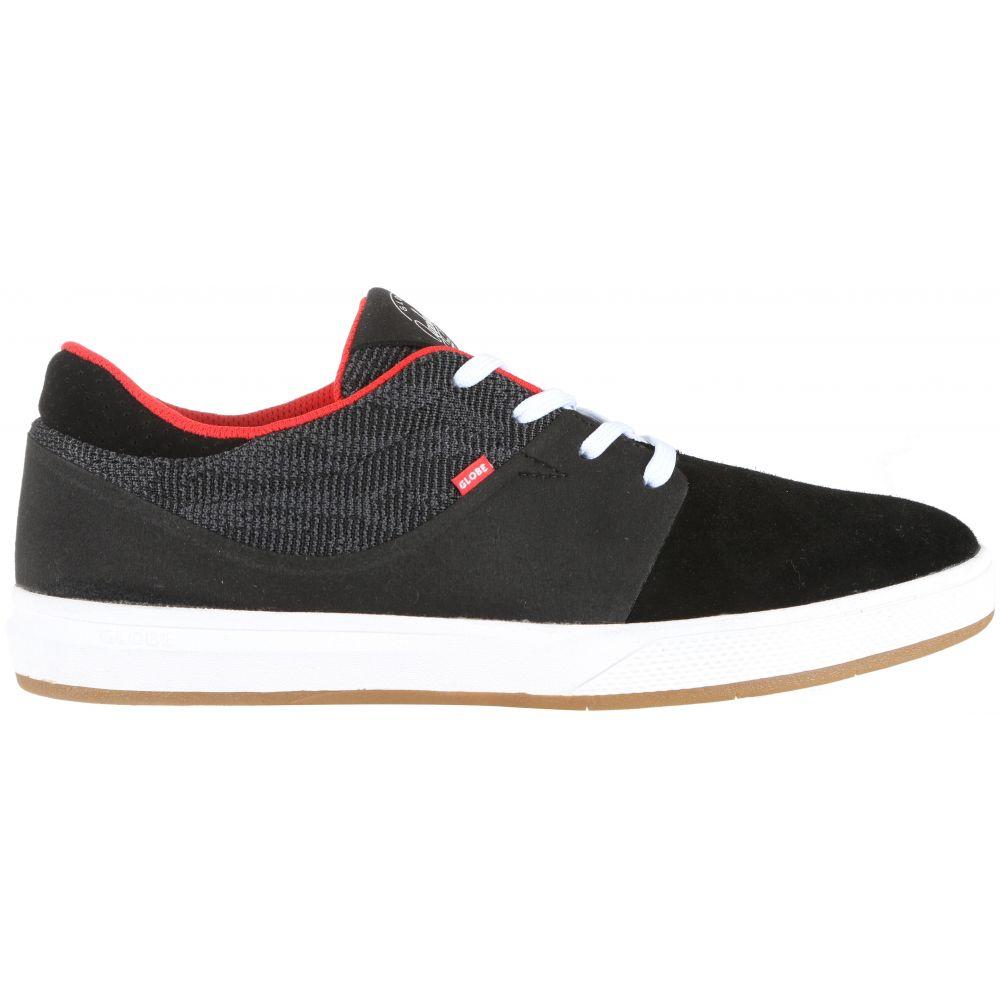 グローブ Globe メンズ スケートボード シューズ・靴【Mahalo SG Skate Shoes】Black Knit/Red