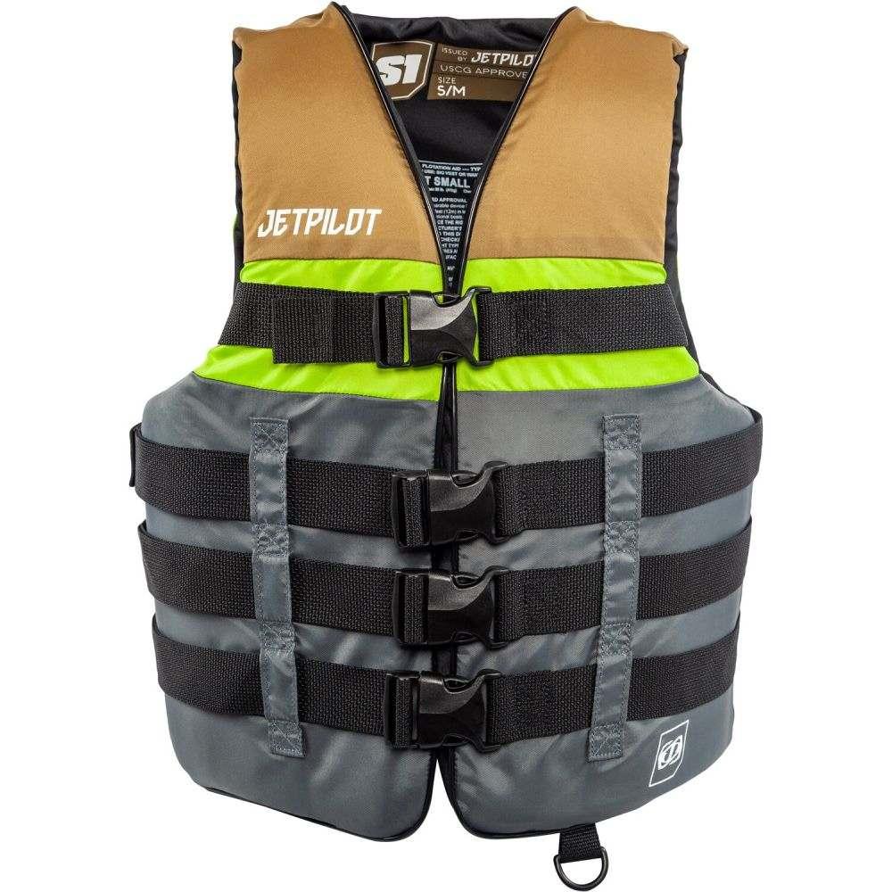 ジェットパイロット Jet Pilot メンズ トップス【S1 Nylon CGA Wakeboard Vest】Green
