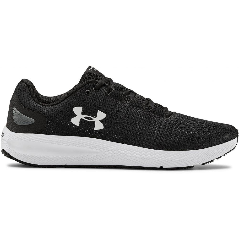 アンダーアーマー Under Armour メンズ ランニング・ウォーキング シューズ・靴【Charged Pursuit 2 Running Shoes】Black/White/White
