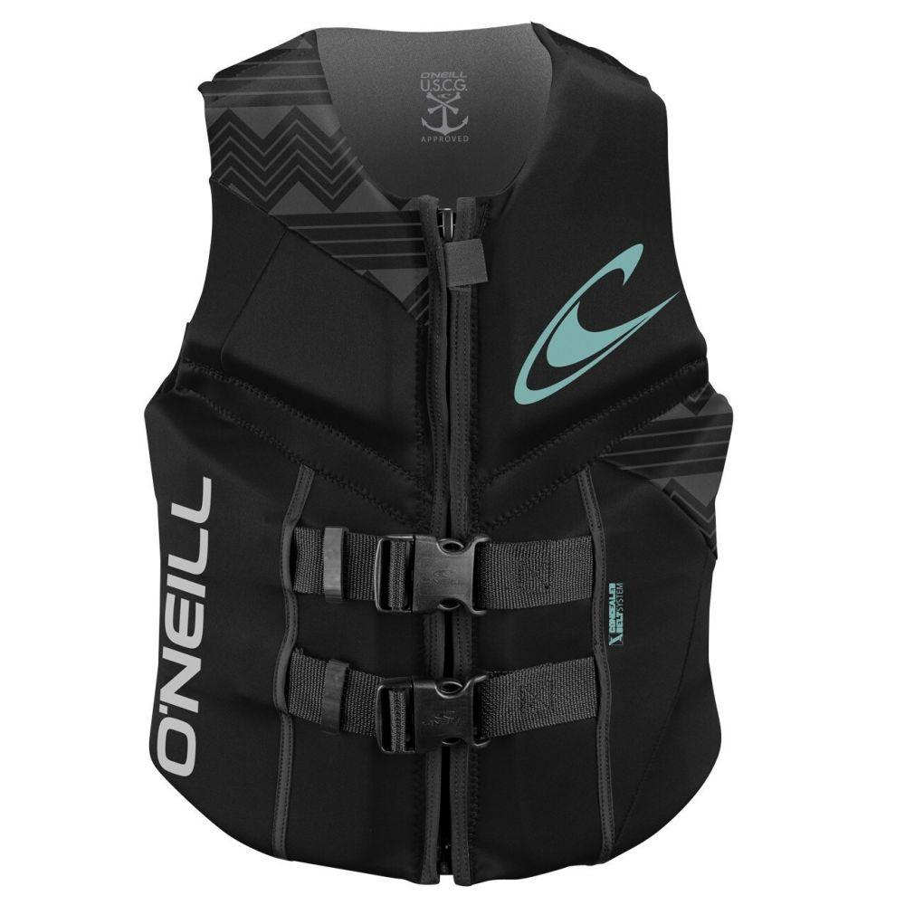 オニール O'Neill レディース トップス【Reactor USCG Wakeboard Vest】Black/Black/Black