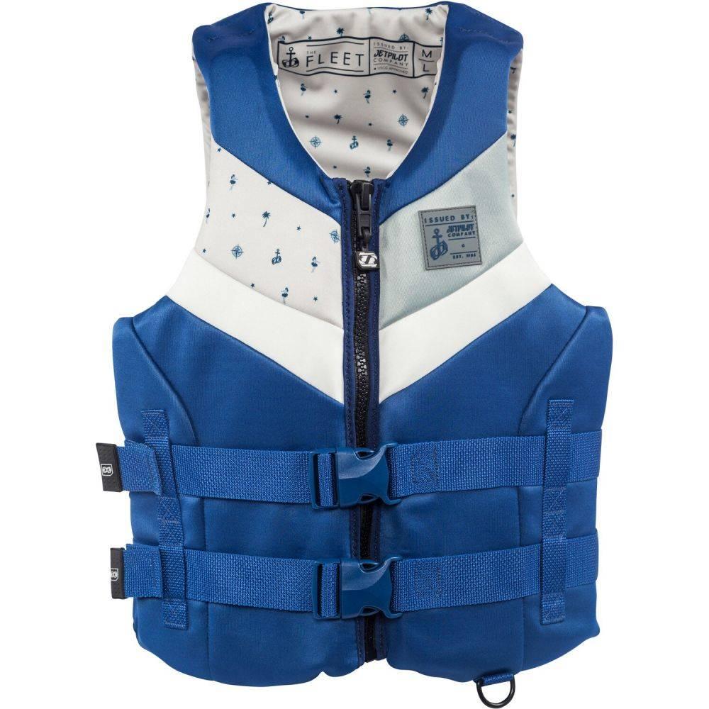 ジェットパイロット Jet Pilot メンズ トップス【Fleet Neo CGA Wakeboard Vest】Navy/White