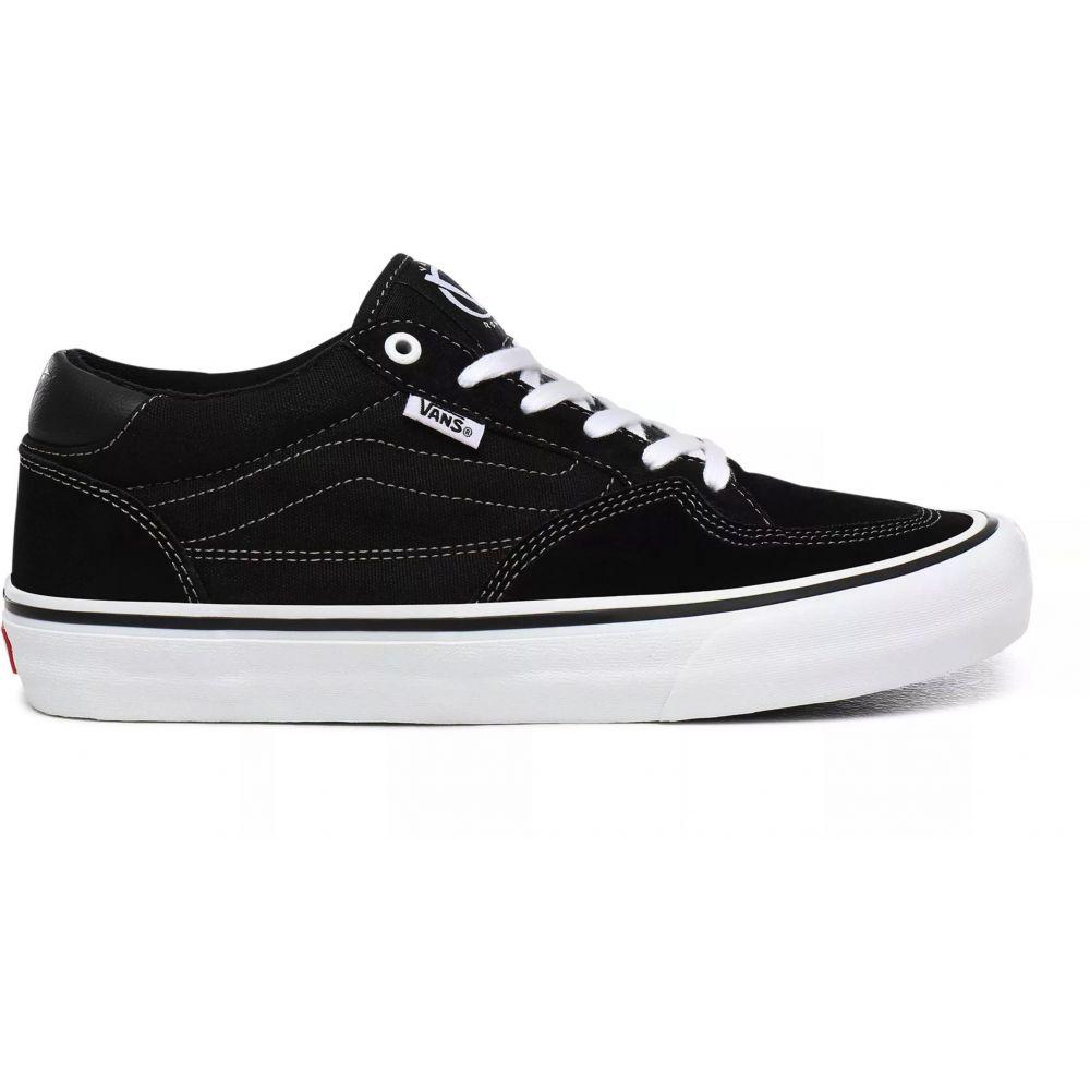 ヴァンズ Vans メンズ スケートボード シューズ・靴【Rowan Pro Skate Shoes】Black/White