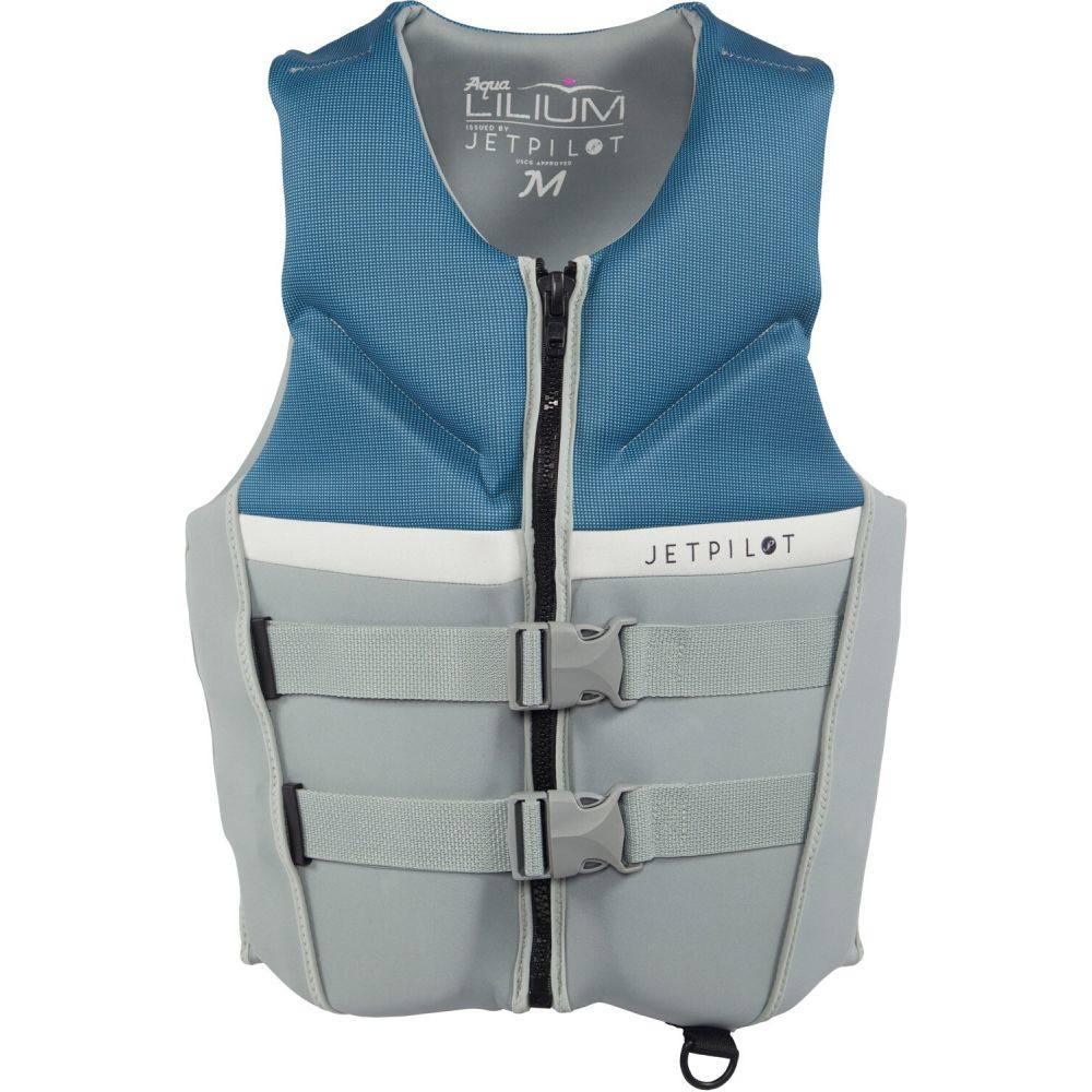 ジェットパイロット Jet Pilot レディース トップス【Aqua Lilium Neo CGA Wakeboard Vest】Silver