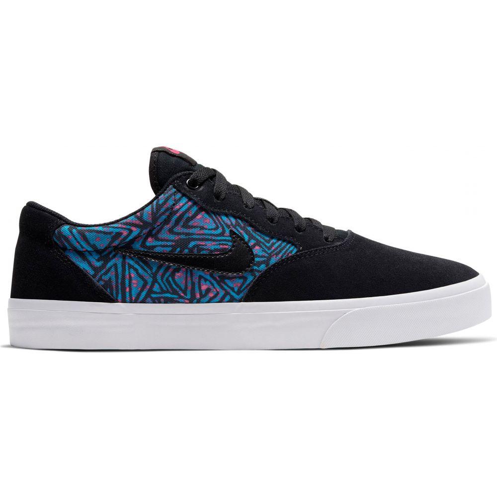 ナイキ Nike メンズ スケートボード シューズ・靴【SB Chron Solarsoft Premium Skate Shoes】Black/Black/Laser Blue/Watermelon