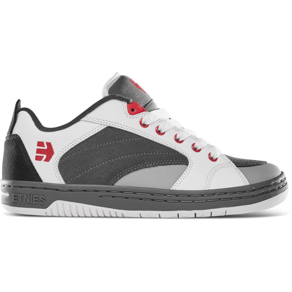 エトニーズ Etnies メンズ スケートボード シューズ・靴【Czar Skate Shoes】Grey/White/Red