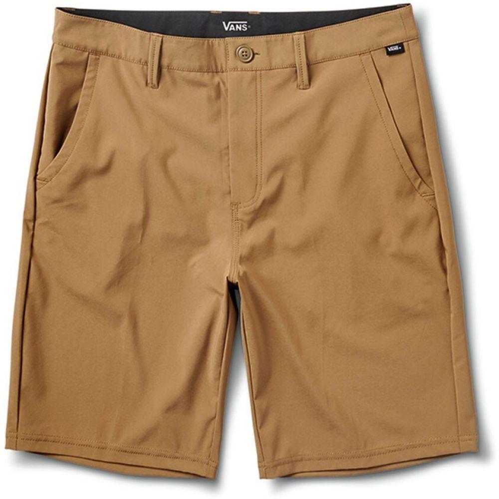 ヴァンズ Vans メンズ ボトムス・パンツ【Authentic Decksider 19in Shorts】Dirt
