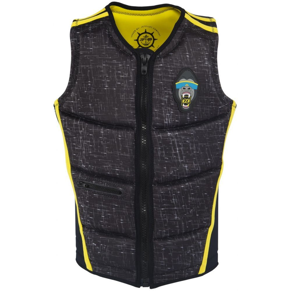 ジェットパイロット Jet Pilot メンズ トップス【Aaron Rathy Comp NCGA Wakeboard Vest】Black