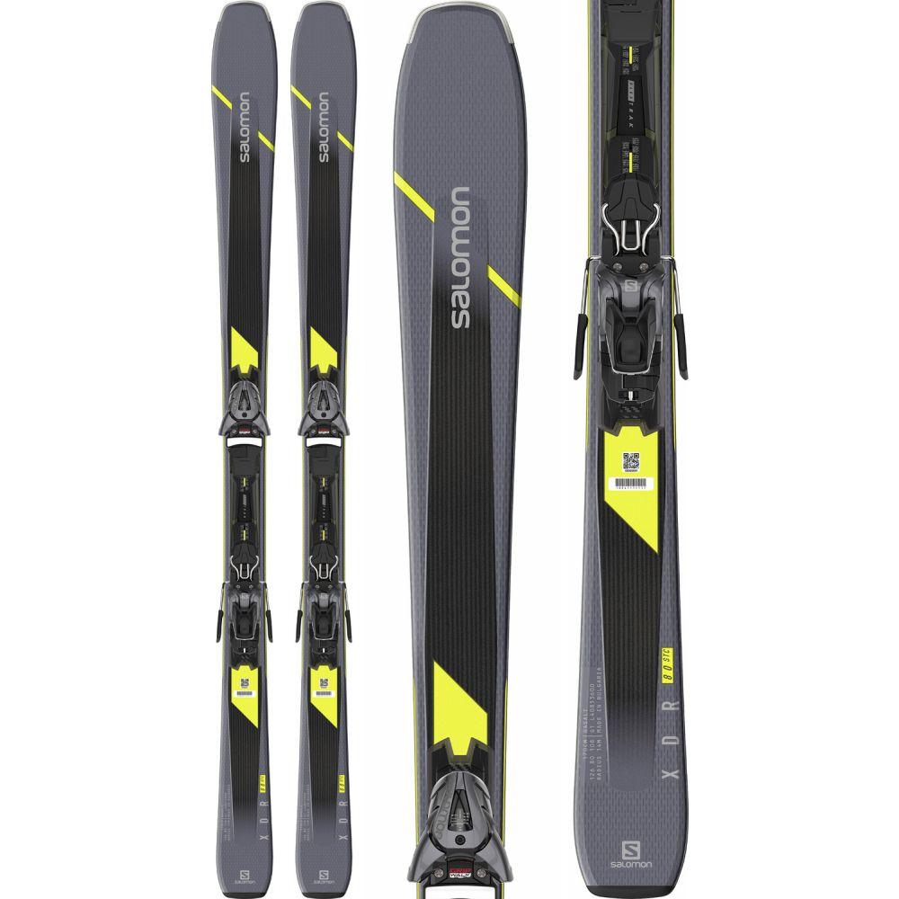 サロモン Salomon メンズ スキー・スノーボード ビンディング【XDR 80 ST C Skis w/ Z10 GW Bindings 2020】Grey/Black/Yellow