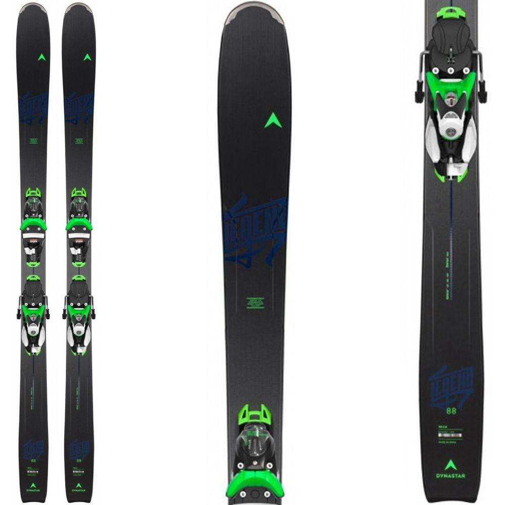 ダイナスター Dynastar メンズ スキー・スノーボード ビンディング【Legend 88 Skis w/ SPX 12 Konect Dual Bindings 2020】Black/Green