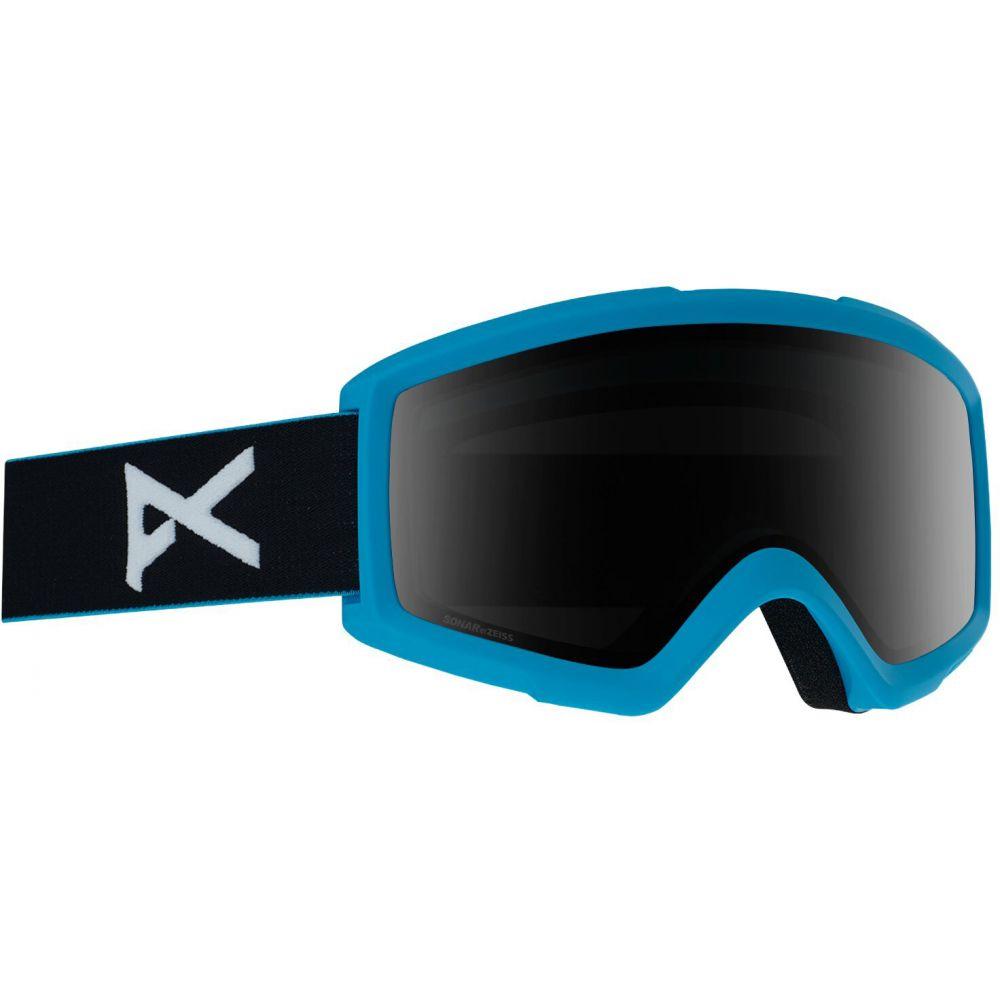 アノン Anon メンズ スキー・スノーボード ゴーグル【Helix Sonar 2.0 Goggle w/ Spare Lens】Blue/SONAR Smoke and Amber Lens