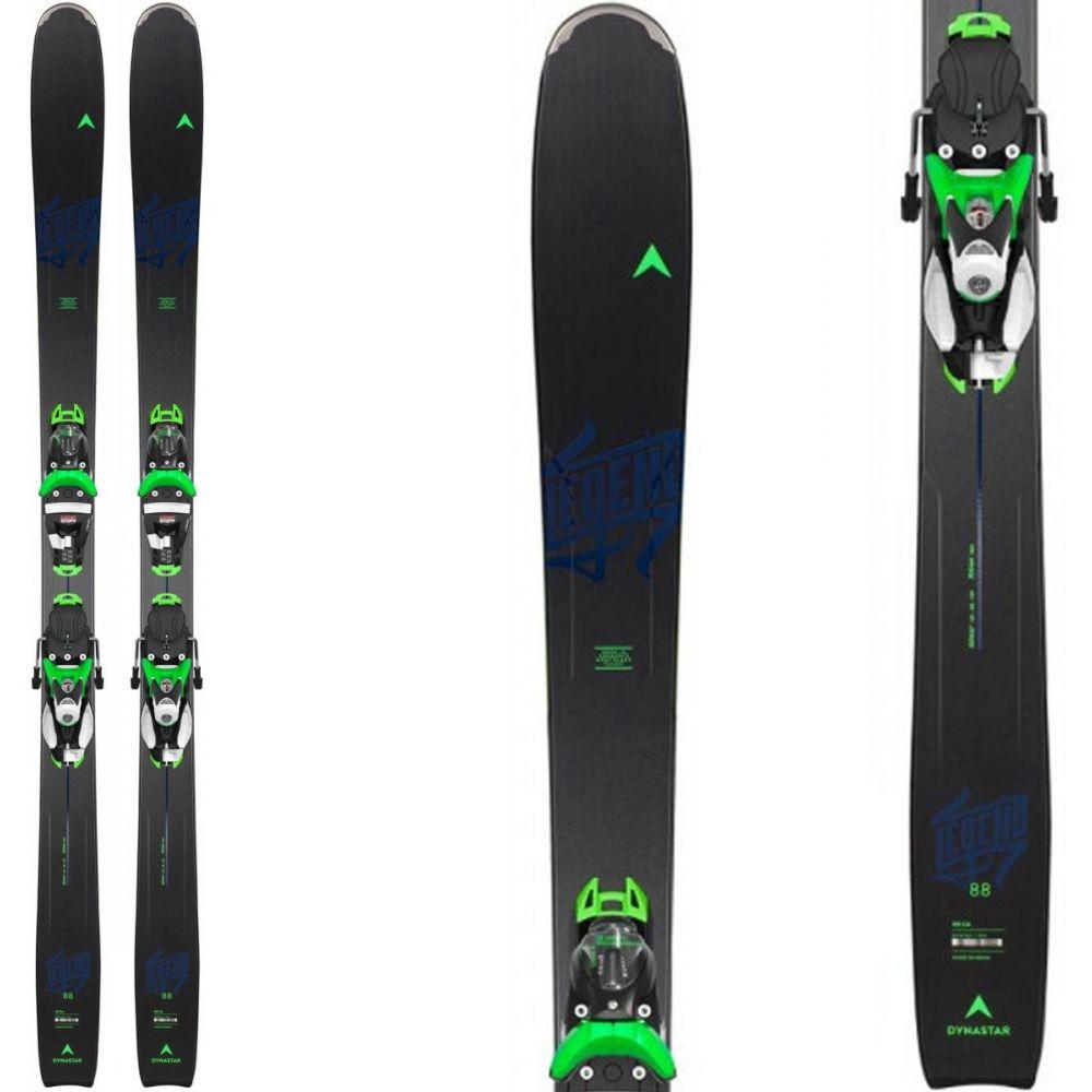 ダイナスター Dynastar メンズ スキー・スノーボード ビンディング【Legend 84 Skis w/ NX 12 Konect GW Bindings 2020】Black/Lime