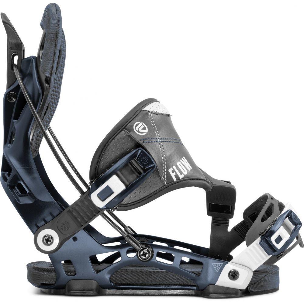 フロー Flow メンズ スキー・スノーボード ビンディング【NX2 Hybrid Snowboard Bindings 2020】Midnight