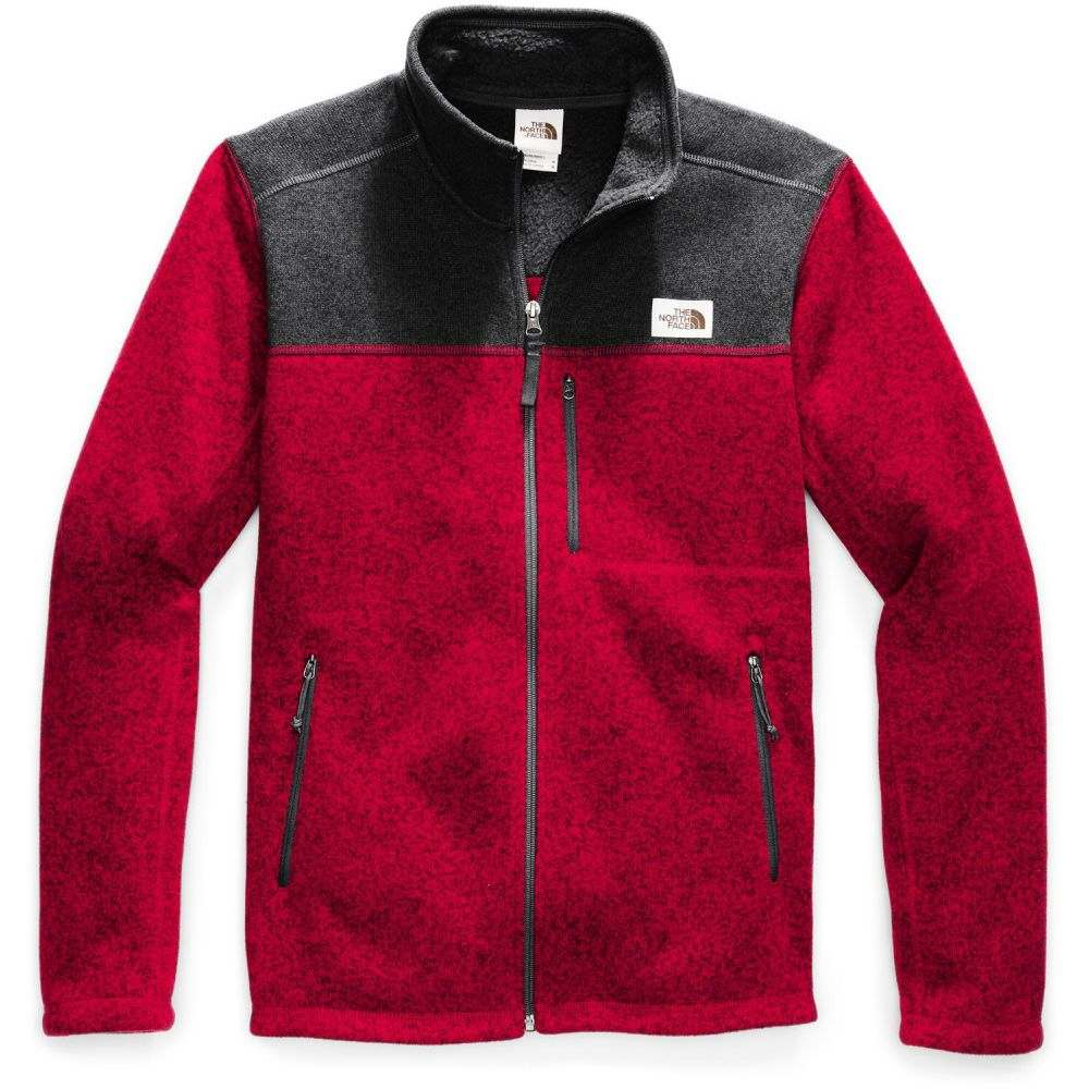 ザ ノースフェイス The North Face メンズ フリース トップス【Gordon Lyons Full-Zip Fleece】Cardinal Red Heather/TNF Dark Grey Heather