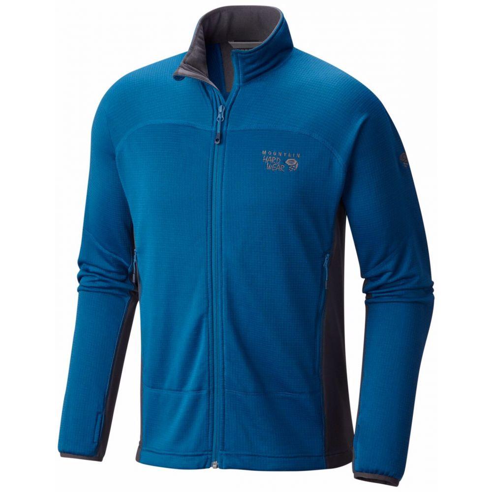 マウンテンハードウェア Mountain Hardwear メンズ フリース トップス【Desna Grid Fleece】Phoenix Blue