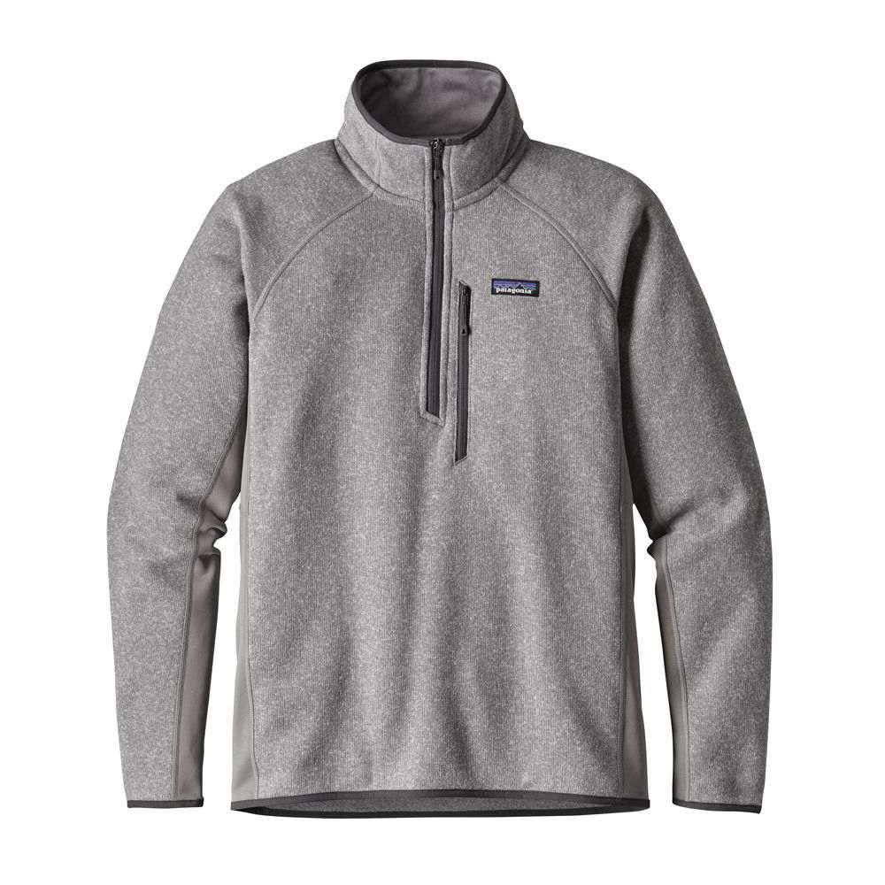 パタゴニア Patagonia メンズ フリース トップス【Performance Better Sweater 1/4 Zip Fleece】Feather Grey