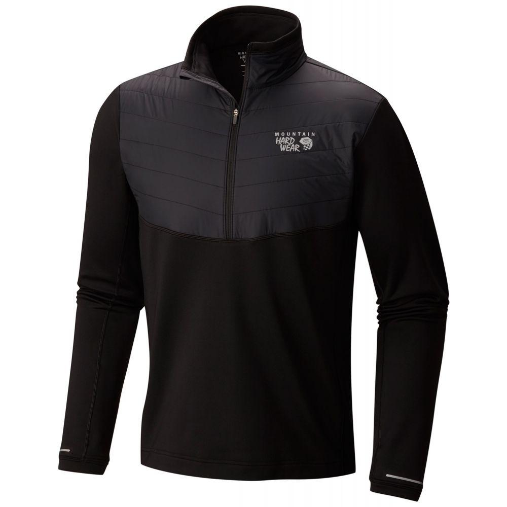 マウンテンハードウェア Mountain Hardwear メンズ フリース トップス【32 Degree Insulated Half-Zip Fleece】Black