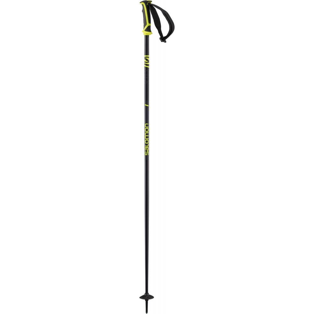 サロモン Salomon メンズ スキー・スノーボード ポール【X 08 Ski Poles】Black/Neon Yellow