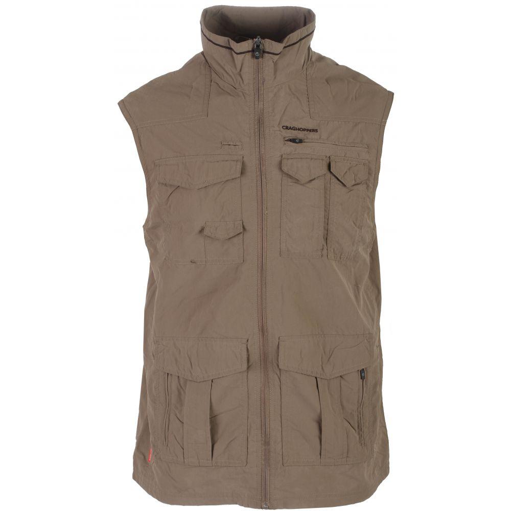 クラッグホッパーズ Craghoppers メンズ ベスト・ジレ トップス【Nat Geo Nosilife Sherman Gilet Vest】Pebble