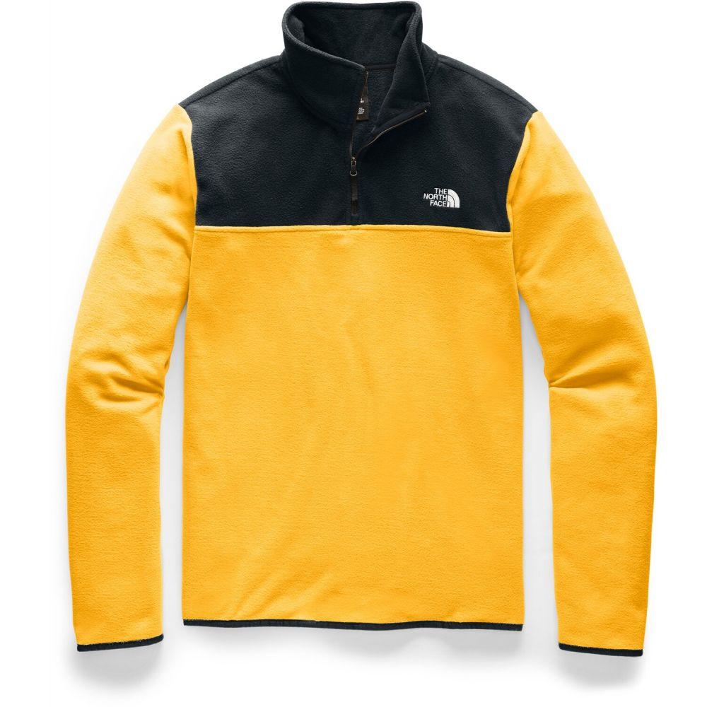 ザ ノースフェイス The North Face メンズ フリース トップス【TKA Glacier 1/4-Zip Fleece】TNF Yellow/TNF Black